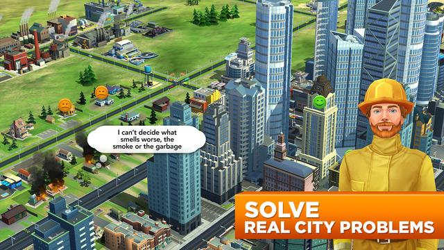 模拟城市:建造 无限钞票金币破解版