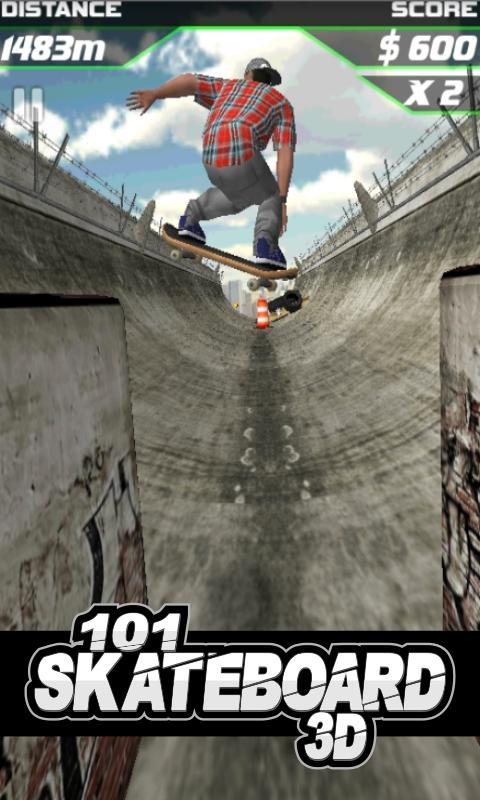 101滑板赛3D下载图3: