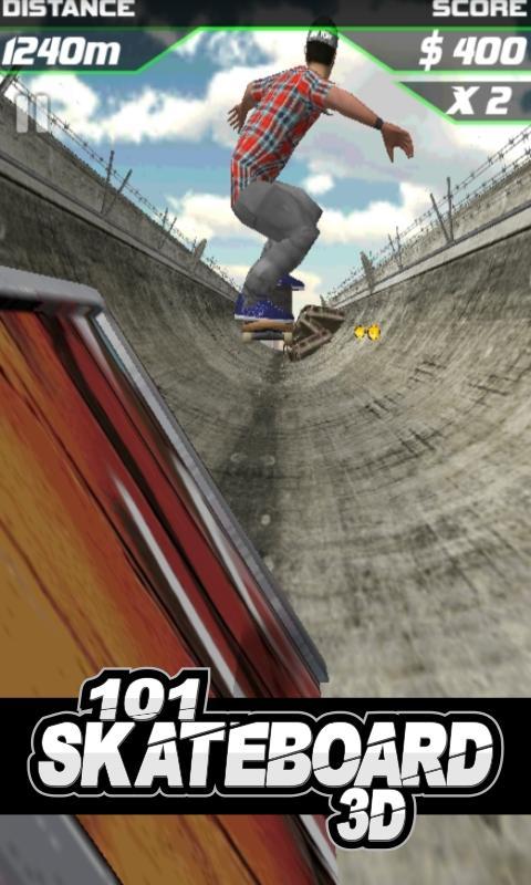 101滑板赛3D下载图1: