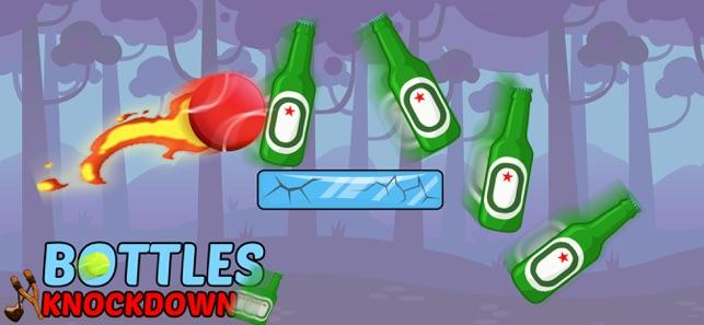 瓶子射击游戏