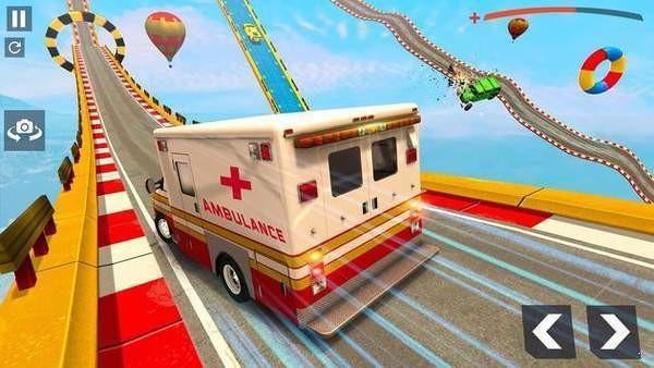 巨型坡道救护车特技下载图2: