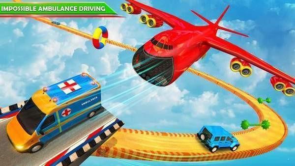 巨型坡道救护车特技下载图1:
