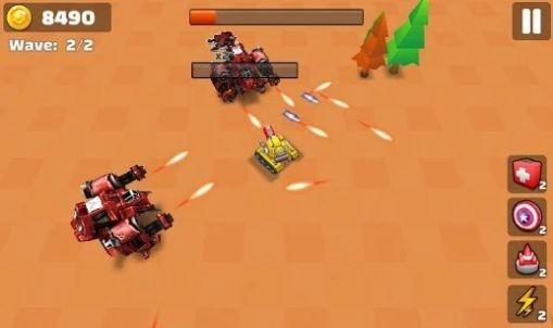 坦克io战斗射击下载图2: