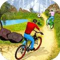 自行车下坡