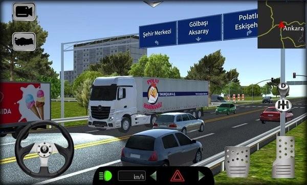 货车模拟器2021破解版下载图2: