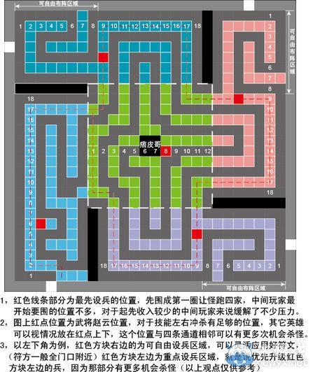 《梦塔防》暖色系秦陵迷宫迷宫最新最新改良图