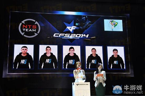 CFS2014世界总决赛南美战队队员介绍