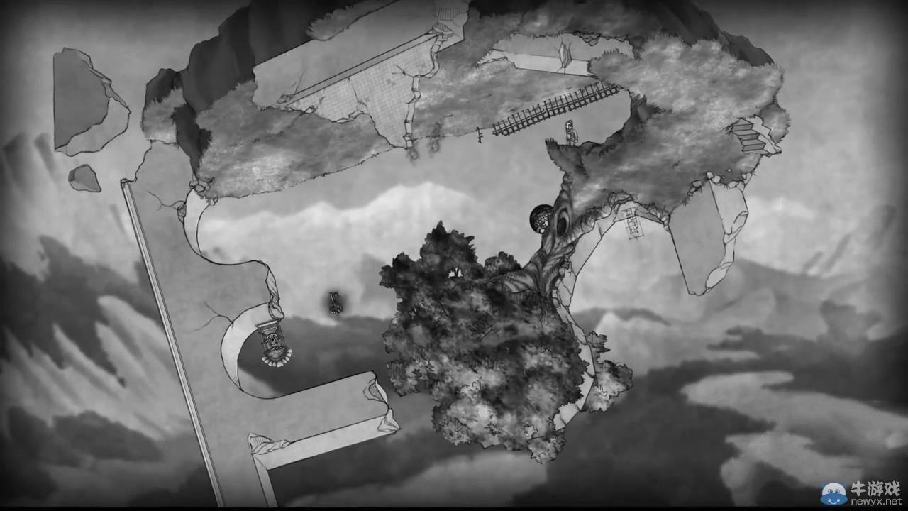 另类解谜游戏《桥》解说演示:重力与难题相结合
