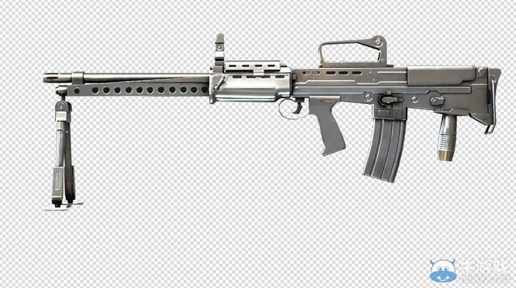《穿越火线》cf挑战生化模式利器L86-银色杀手