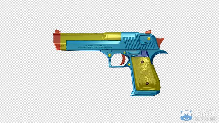 CF5月新版本武器-玩具沙鹰