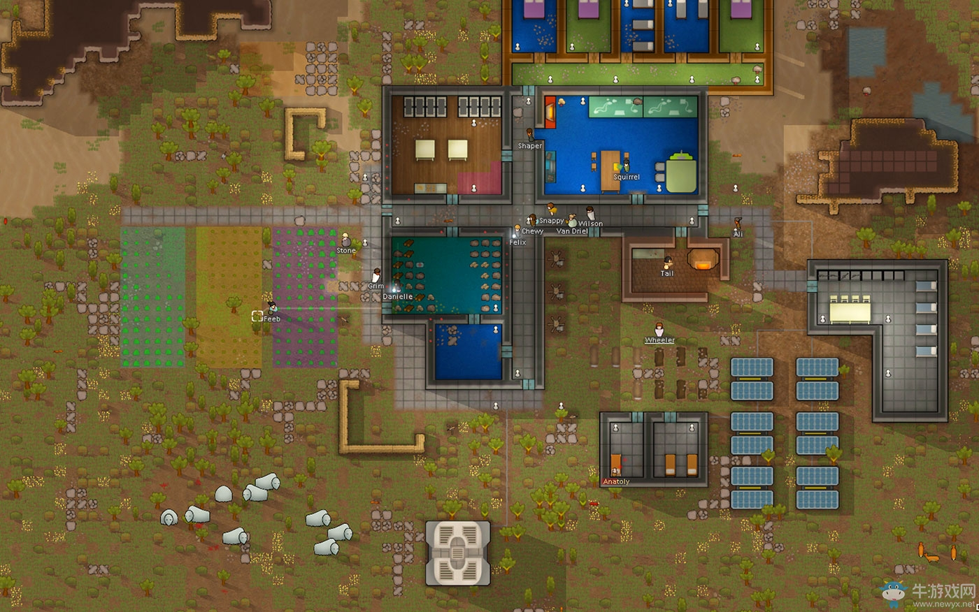 《环世界》开局玩法教学解说视频攻略