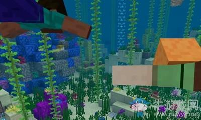 《我的世界》海草收集方法介绍