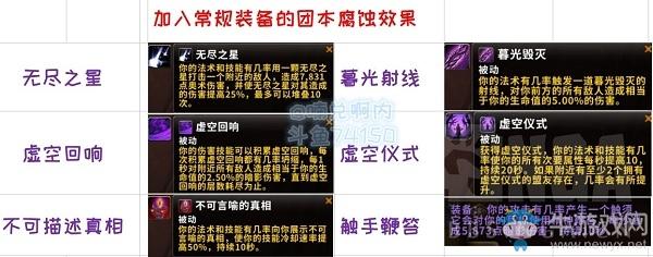 《魔兽世界》8.3全腐蚀特效介绍