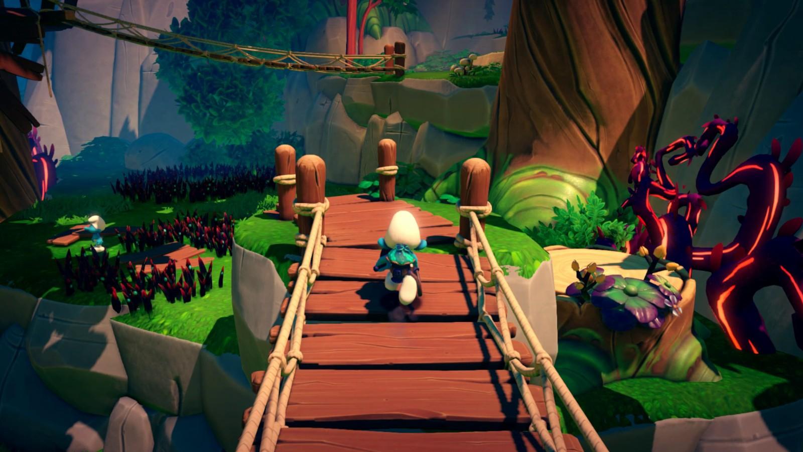 3D《蓝精灵》游戏正式登录主机