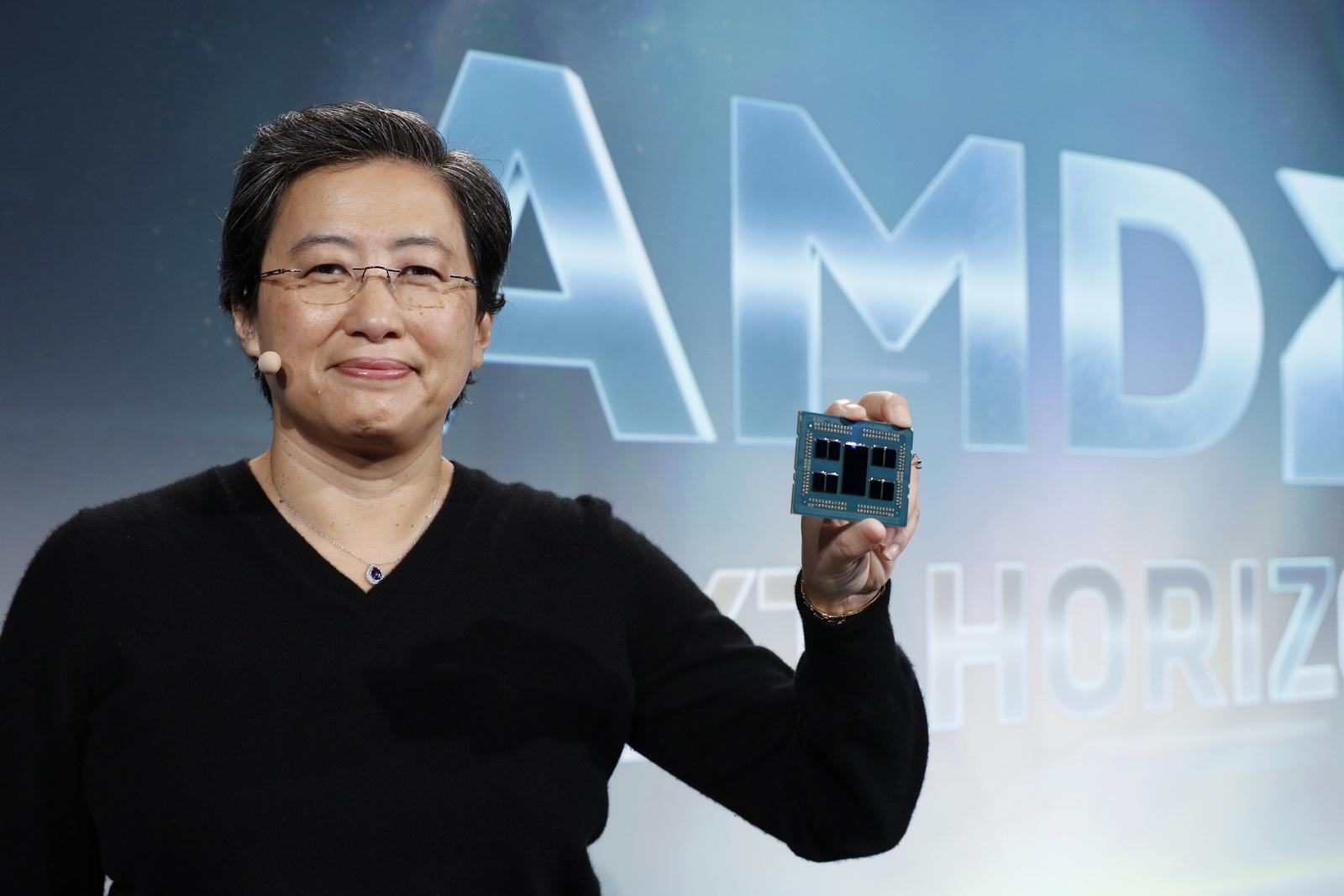 AMD永远的神 CEO苏姿丰揭示成功之道