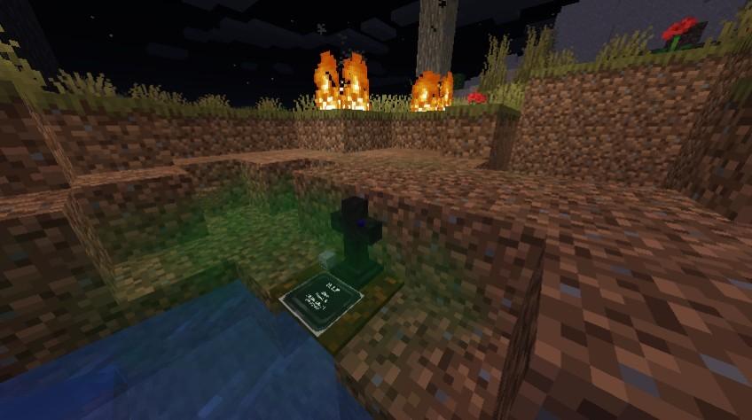 《我的世界》1.16.5坟墓机制MOD