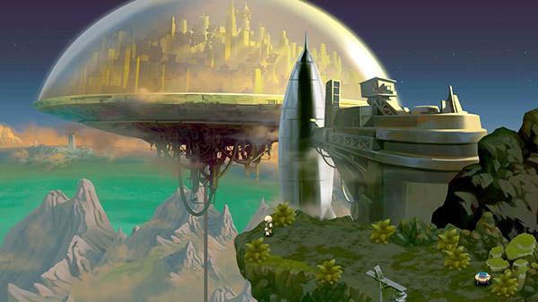 动作解谜游戏《复古机械城》将于5月12日发售