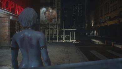 《生化危机3:重制版》吉尔突变清凉丧尸MOD