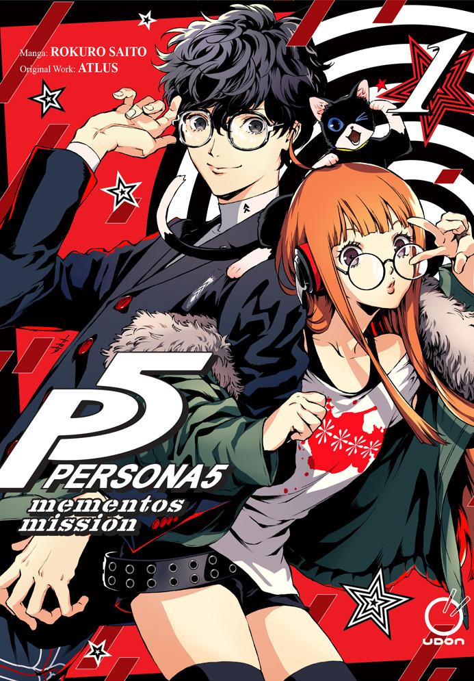 12月7日发售《女神异闻录5》漫画预购