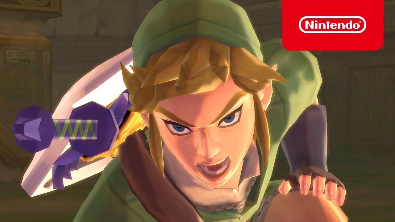 发布广告《塞尔达传说:御天之剑HD》正式上市趋势