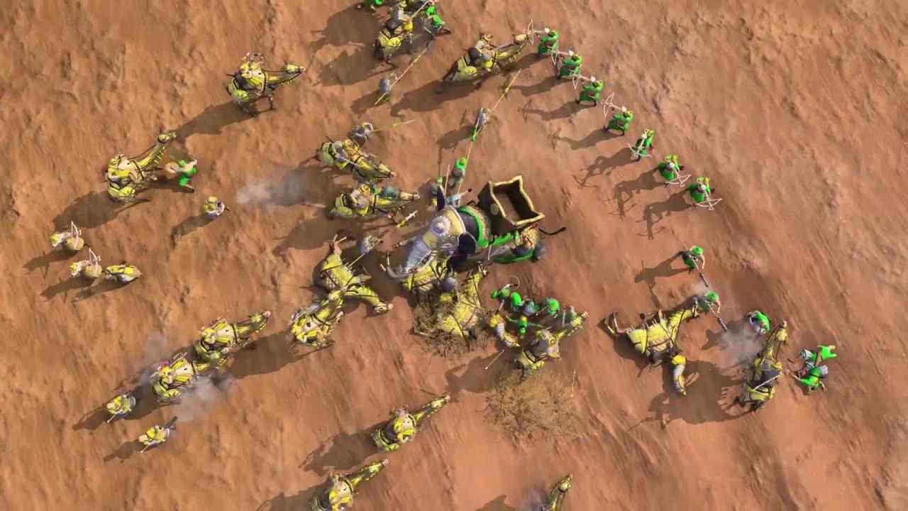 《帝国时代4》最新内容预告展示