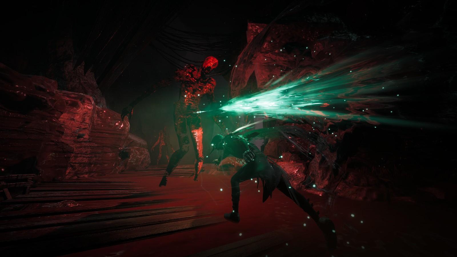 类魂动作游戏《Thymesia:记忆边境》战斗游戏展示