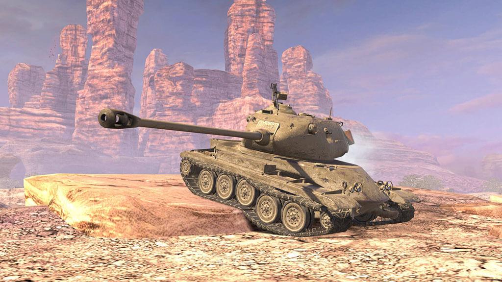M系列坦克出战《坦克世界闪击战》七周年超强活动开启