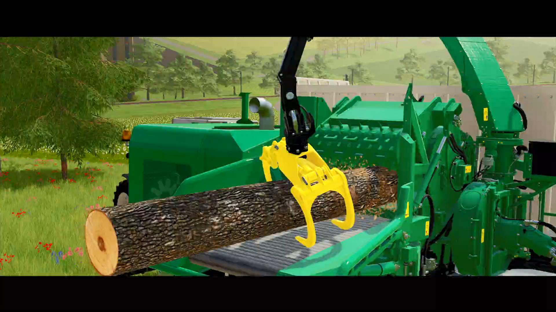 11月22日发售《模拟农场22》全新实机展示
