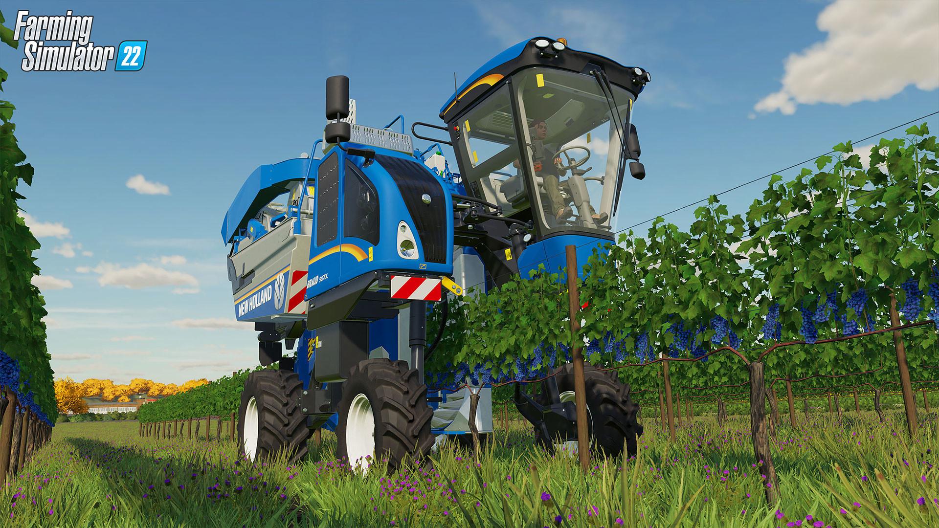 7月22日开测《模拟农场22》玩法展示