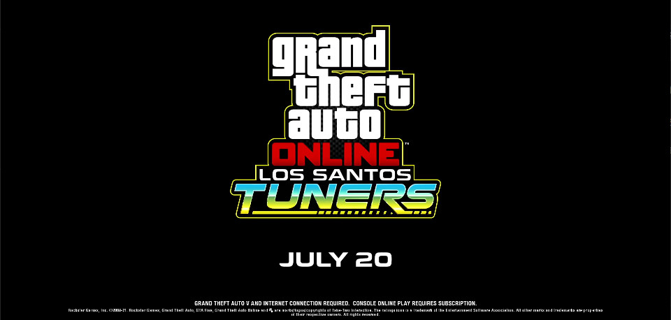 7月20日正式上线《GTA Online》全新赛车主题更新