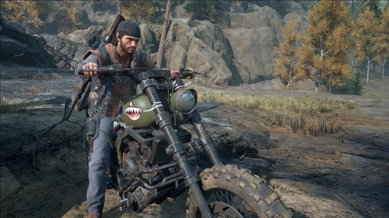《往日不再》摩托车头清洁MOD