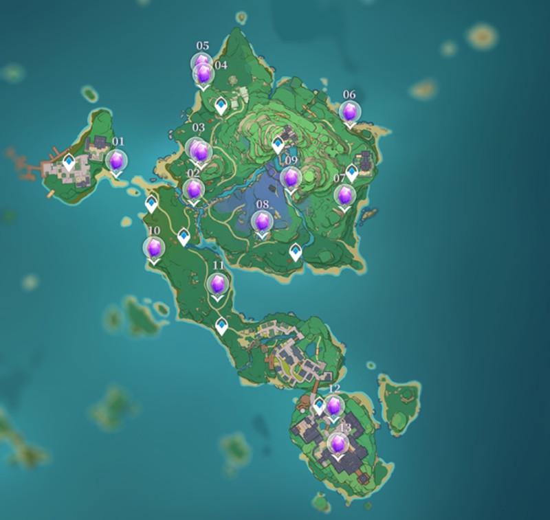 《原神》紫金矿在哪获取