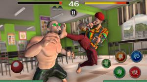 高中坏男孩打架
