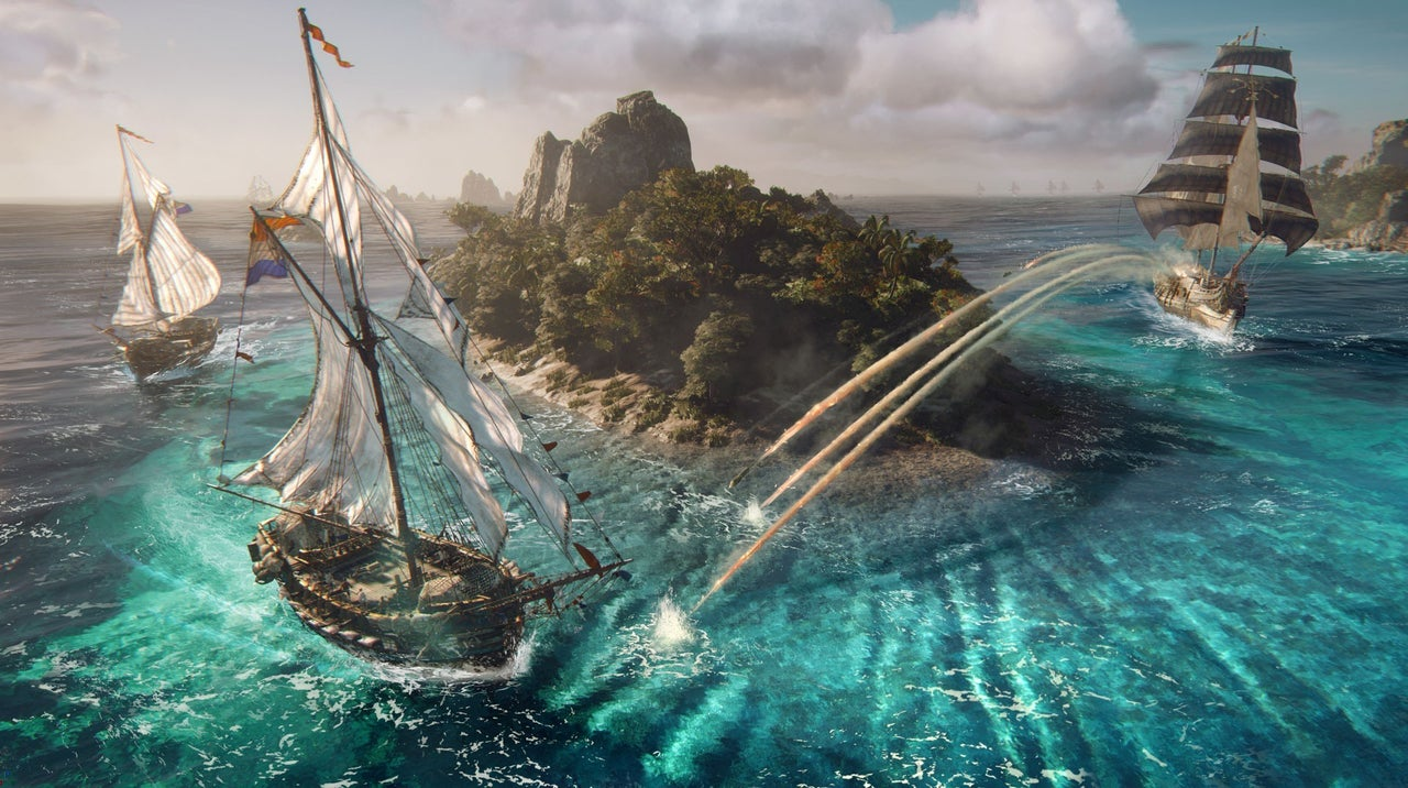 1.2亿元的预算《碧海黑帆》超多预算开启