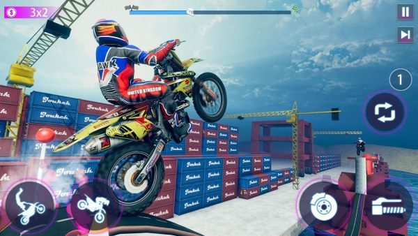 真正摩托车特技