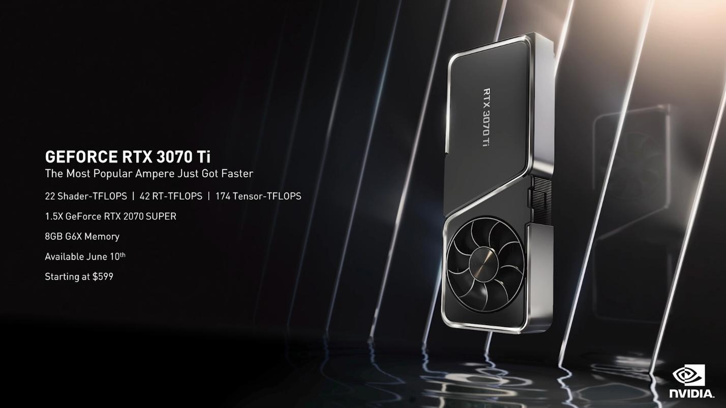 RTX 3080 Ti定价正式公布1199美金将在6月3日正式发售