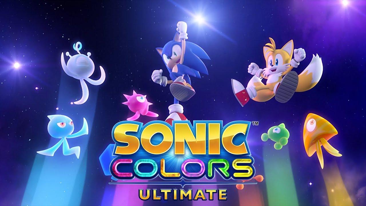 9月9日公开《索尼克 缤纷色彩 究极版》全新要素