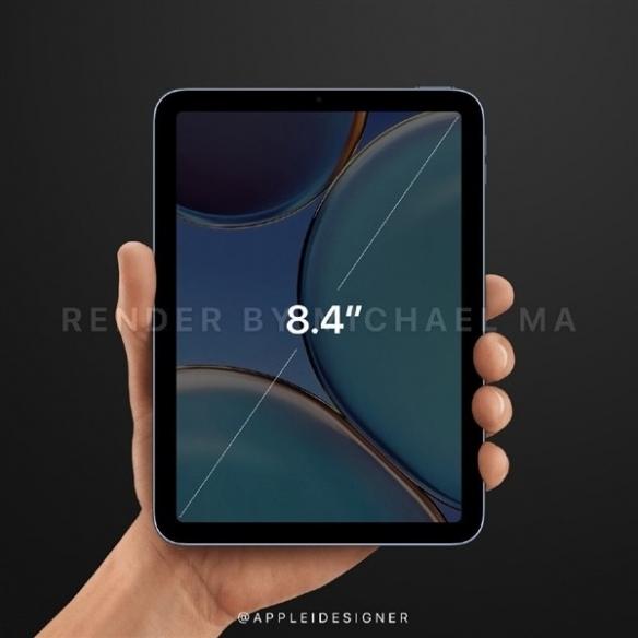 外媒爆料!iPad mini6今年9月发布,搭载全面屏!