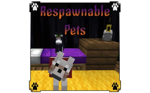 《我的世界》1.12.2宠物重生MOD