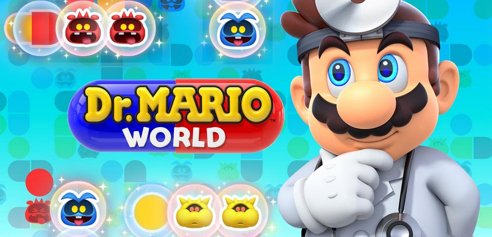 任天堂旗下《马里奥医生:世界》即将开启全新的轮换十一月下线