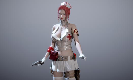 《甜心选择2》穿越火线护士樱小姐MOD