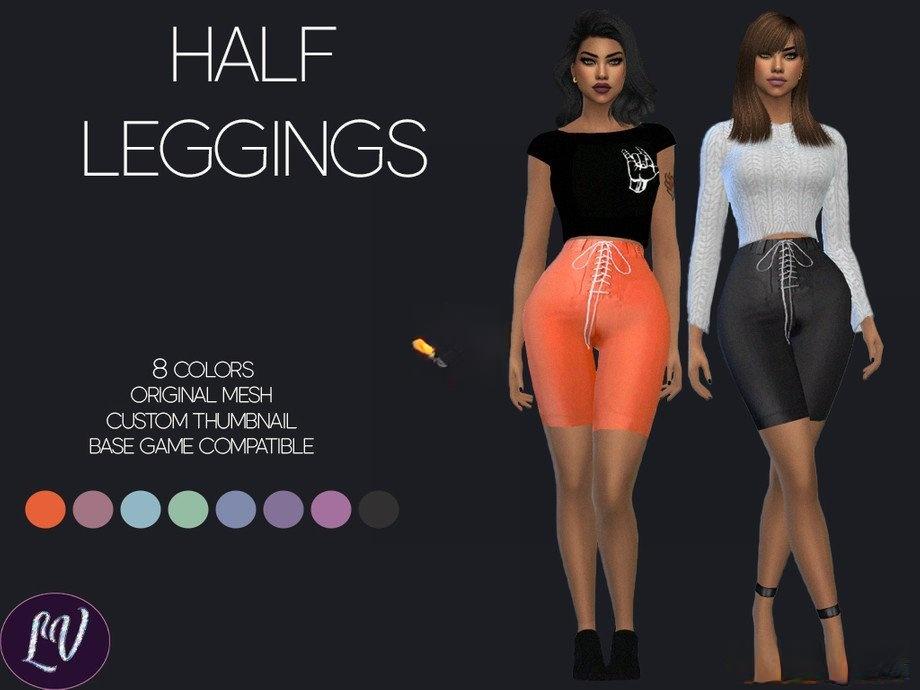 《模拟人生4》女性系带运动短裤MOD
