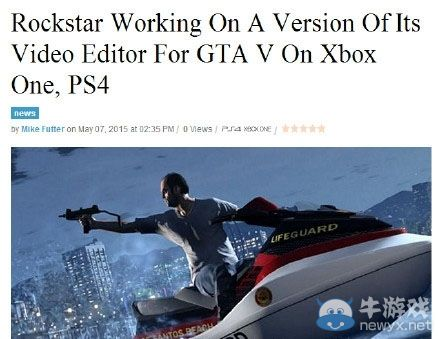 """《侠盗飞车5》次世代""""R星编辑器""""正在开发中"""
