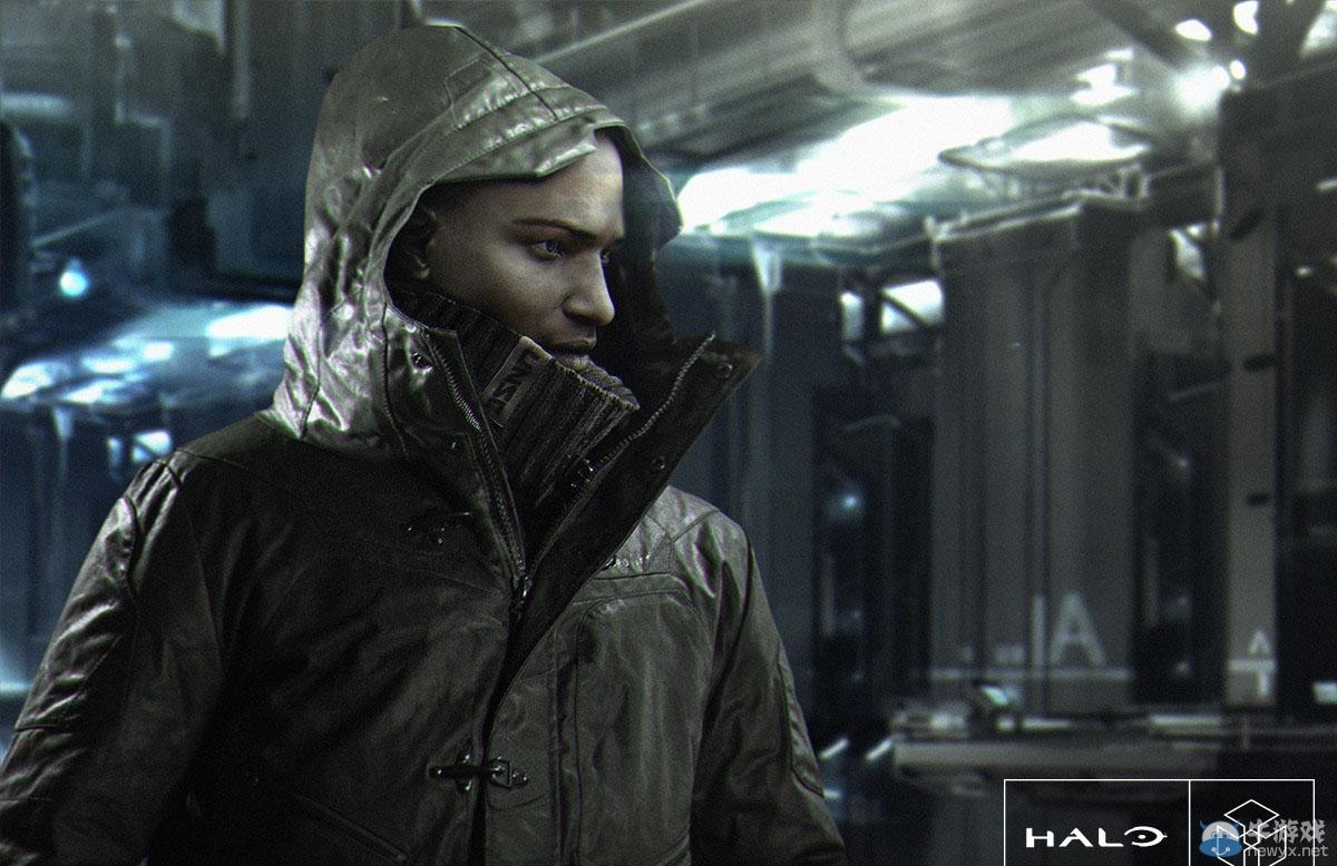 微软推出《光环》主题飞行夹克:斯巴达头盔闪现