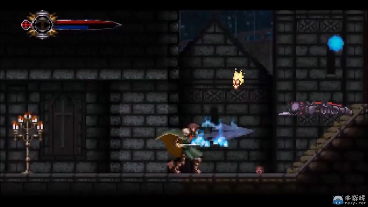 独立游戏《暗焰》公布 恶魔城式地图RPG