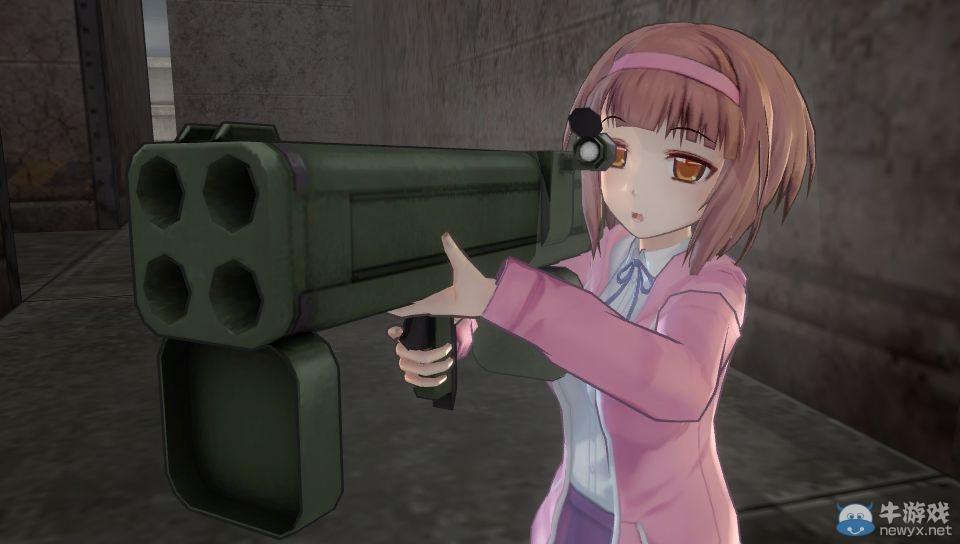 《子弹少女2》最新截图好污 用鳗鱼调教小萝莉