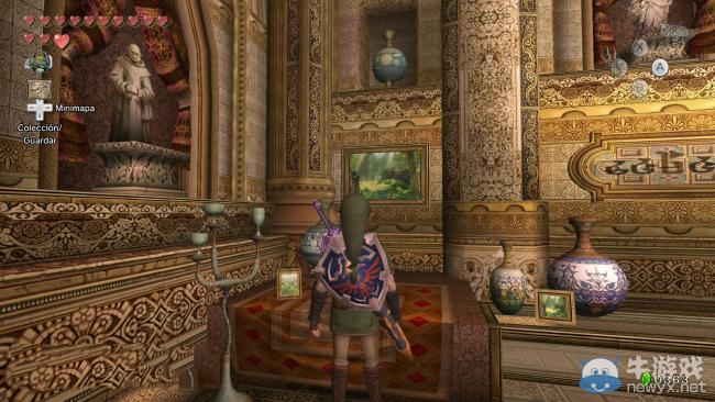 《塞尔达传说:黄昏公主HD》彩蛋 游戏中的游戏截图