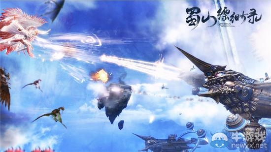 3D仙侠《蜀山缥缈录》公测曝重磅CG