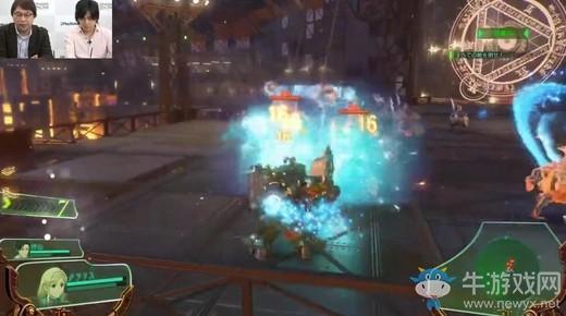 《新樱花大战》PS4实机展示战斗中的克拉丽丝