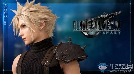 SE公布《最终幻想7:重制版》克劳德新图/预告片